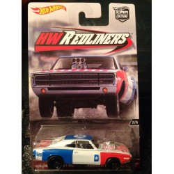 Car Culture HW Redliners '70 Dodge Charger R/T