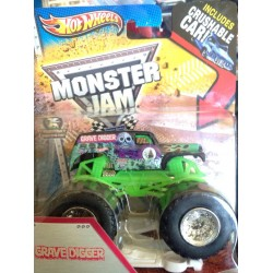 2013 Hot Wheels Grave Digger