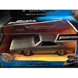 Jada Fast & Furious 1:32 Dom's Charger R/T Raw Metal - Furious7