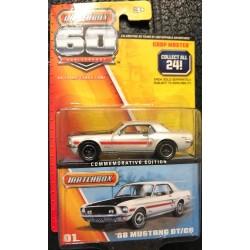 Matchbox 60th Anniversary '68 Mustang GT/CS - Error!