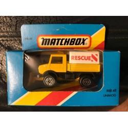 1981 #48 Unimog Rescue w/ Plow