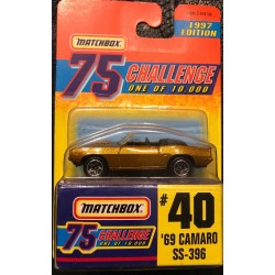 1997 Gold Challenge #40 '69 Camaro SS 396