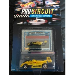 John Andretti Pre-Production Pennzoil