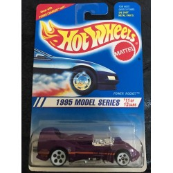1995 #011 Power Rocket - White HO5 Wheels