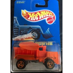 #201 - Oshkosh Snowplow - Orange Dir 3 Spoke Wheels