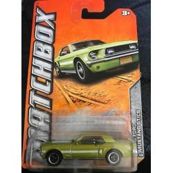 2011 #061 1968 Ford Mustang GT/CS