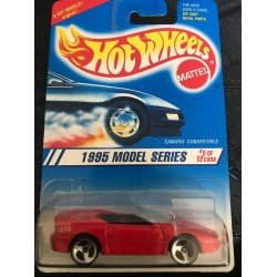 1995 #008 Camaro Convertible - Red - 3 Spoke Wheels
