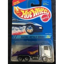 1995 Racing Metals Series Ramp Truck - Blue Chrome
