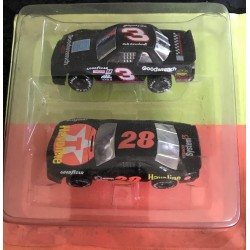 Superstars Dale Earnhardt & Davey Allison Twin Pack