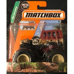 2015 Matchbox MBX Explorers Growlin' Grabber Monster Truck
