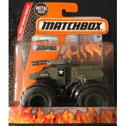 2015 Matchbox MBX Heroic Rescue Battle Blaster Monster Truck - Olive