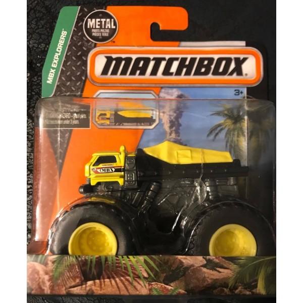 2015 Matchbox MBX Explorers Terrainiac Monster Truck