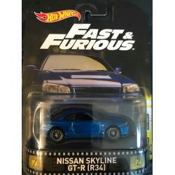 Fast & Furious Nissan Skyline GT-R (R34)