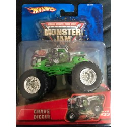 2005 Hot Wheels Grave Digger - Chrome
