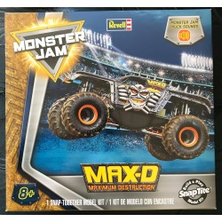 Revell Monster Jam Max-D 1:24th Scale Model Kit