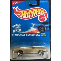 #455 - '65 Mustang Convertible - 3 Spokes