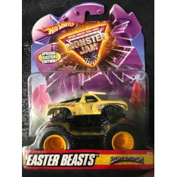 2009 Hot Wheels Easter Beasts Bulldozer