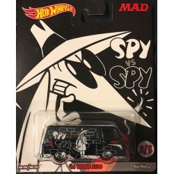 Mad Magazine Spy vs Spy '66 Dodge A100 - Black