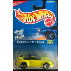 #493 - Porsche 911 Targa - Yellow, Small Wheels