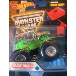 2016 Hot Wheels Grave Digger - Chrome
