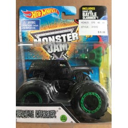 2015 Hot Wheels Blackout Grave Digger
