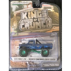 Greenlight Kings of Crunch Series 3 Midwest Four Wheel Drive & Performance Center - Green Machine!