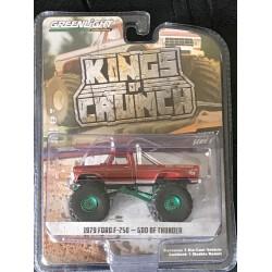 Greenlight Kings of Crunch Series 3 God of Thunder - Green Machine!