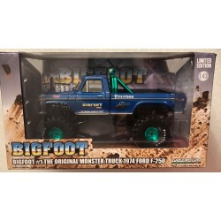 Greenlight 1:43rd Scale Bigfoot #1 - Green Machine!