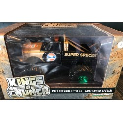 Greenlight Kings of Crunch 1:43rd Scale Gulf Super Special - Green Machine!