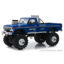 "Greenlight Bigfoot #1 - 1974 Ford F-250 Monster Truck with 48"" Tires (1:18th Scale)"