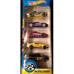 2016 HW Speed Graphics 5-Pack
