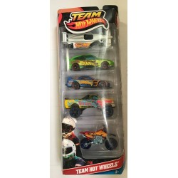 Target 2010 Team Hot Wheels 5-Pack