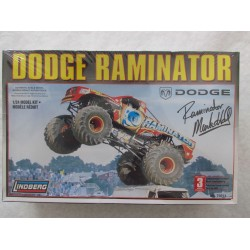 Lindberg Dodge Raminator 1:24th Scale Model Kit