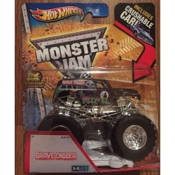 2013 Hot Wheels X-Rays Grave Digger