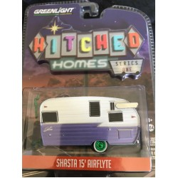 Greenlight Hitched Homes Shasta 15' Airflyte - Green Machine!